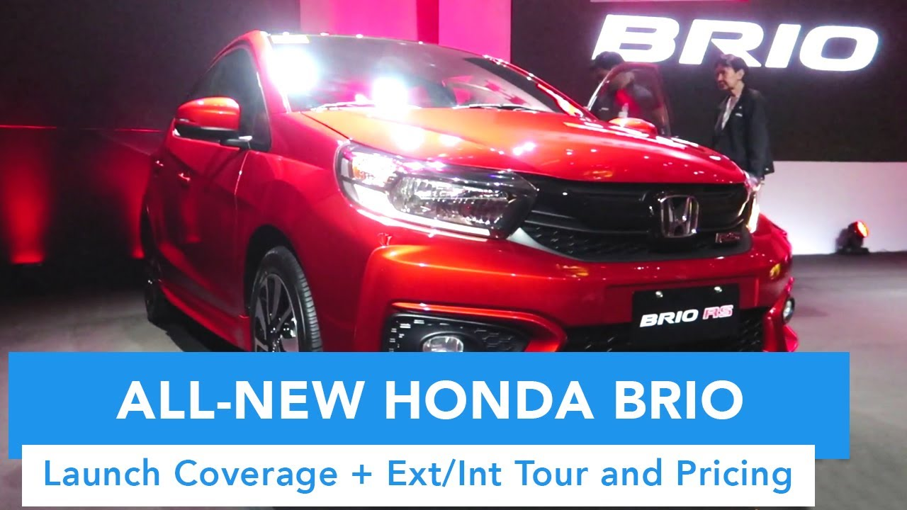 2019 All-New Honda Brio Ext/Int Quick Tour and Pricing (Now Made Sportier)