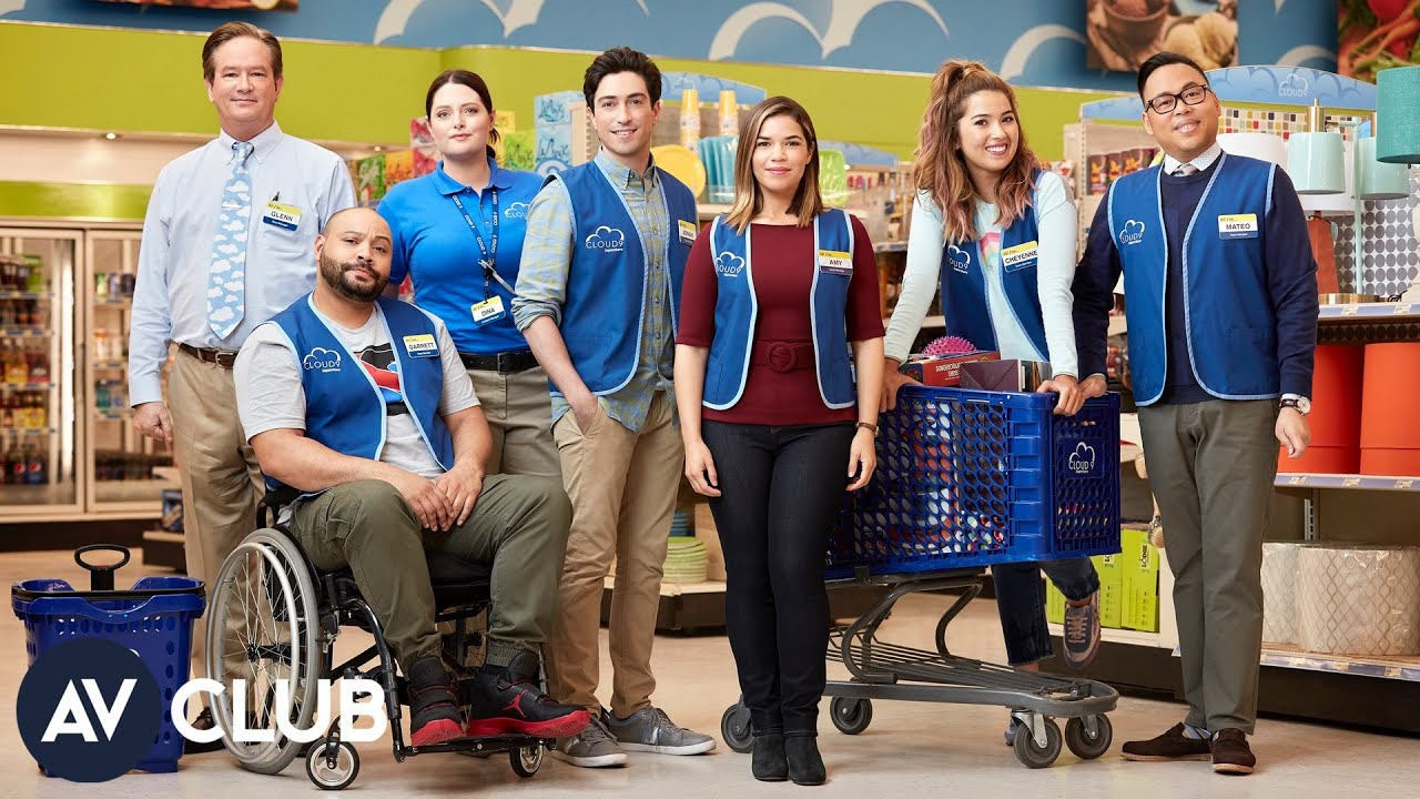 Download Here's a look behind the scenes of Superstore's Cloud 9 set