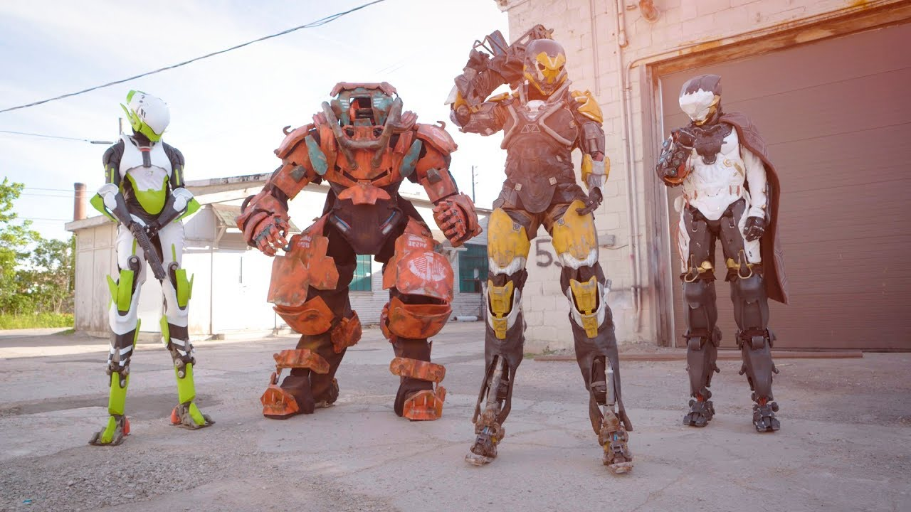 Suit Up: Building the Javelins of Anthem