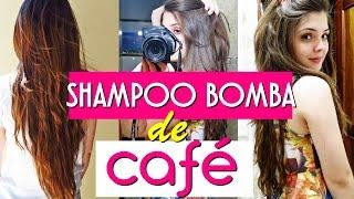 SHAMPOO BOMBA DE CAFÉ (como faz? funciona?) | BrunaTV