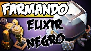 Em busca de Elixir Negro - Clash of Clans