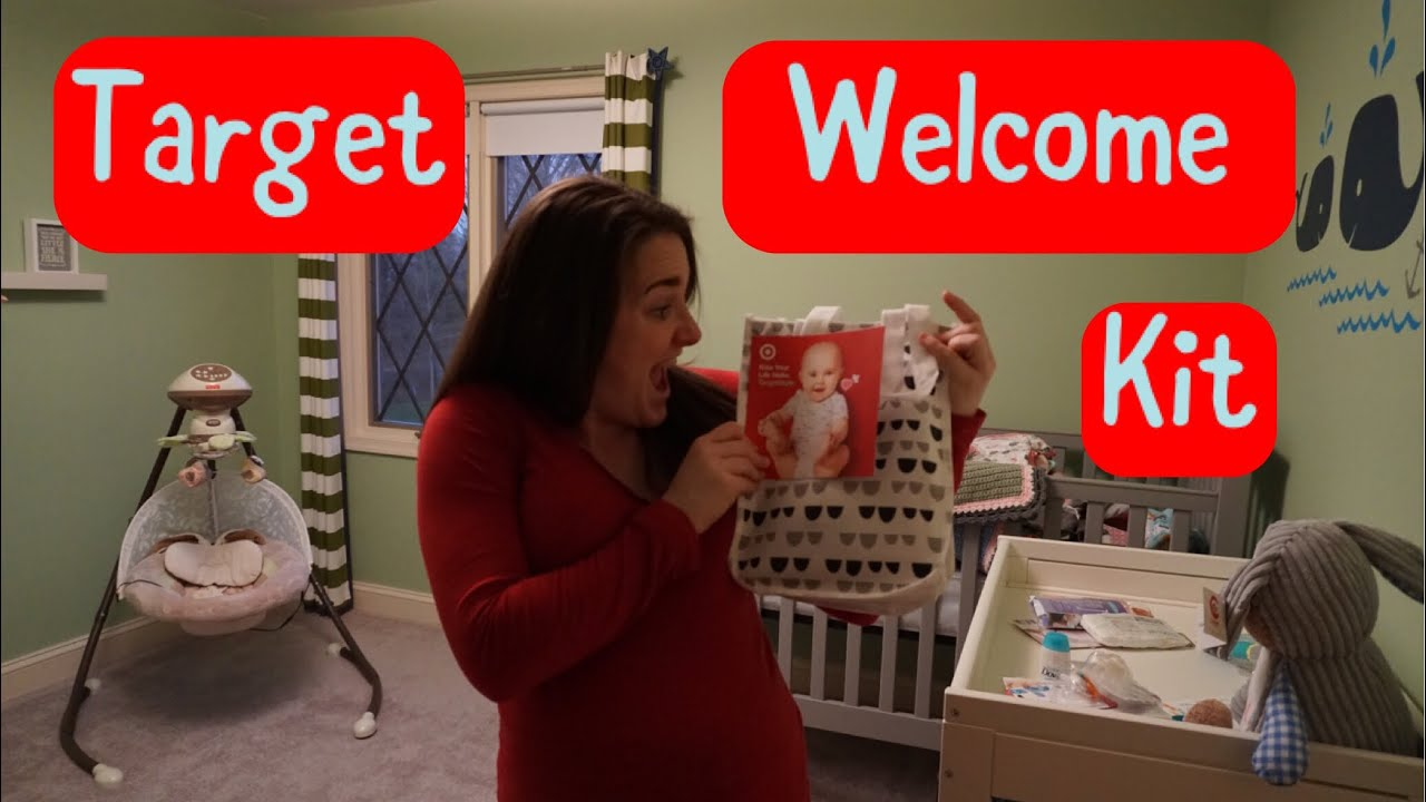 What's in my Target Baby Registry Welcome Kit?! - YouTube