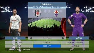 Besiktas JK vs ACF Fiorentina, BJK Vodafone Park, PES 2016, PRO EVOLUTION SOCCER 2016, Konami, PC