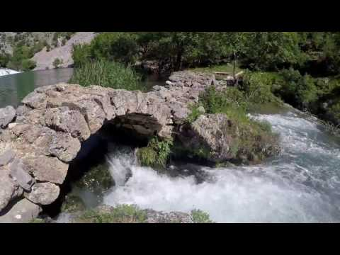 "Trip to ""Kudin most"" in the canyon of river Krupa, Croatia"