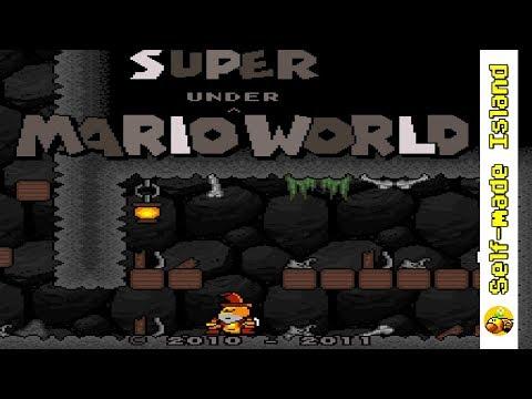 Super Mario Underworld • Super Mario World ROM Hack (SNES/Super Nintendo)