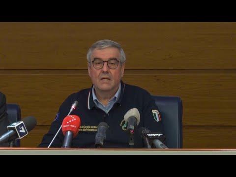 Coronavirus, Borrelli (Protezione civile): 'In Italia 1145 casi in più rispetto a ieri'