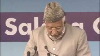 Ahmadiyya : Hazrath Maseehe Moud(as) Jalsa Qadian 2009 Day 2 Morning Part 3/3