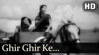 Ghir Ghir Ke Aasman Par - Bawre Nain Songs - Raj Kapoor - Geeta Bali - Asha Bhosle - Rajkumari
