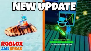 NEW ROBBERY! NEW JET SKIS! - Roblox Jailbreak