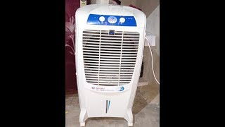 Bajaj DC 2016 Glacier Room Cooler Demo Full detail - Bajaj Electricals unboxing