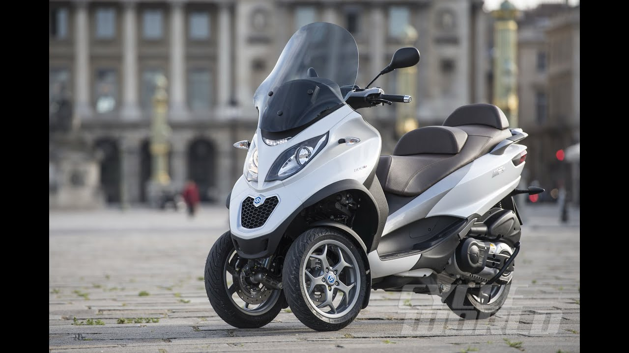 2016 piaggio mp3 500 sport abs - youtube