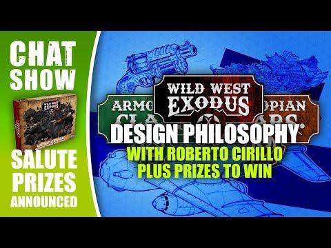 Weekender: Wild West Exodus Game Design Philosophy & Salute Winners Announced!