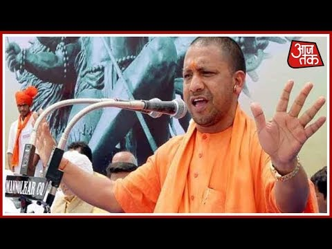 Halla Bol : UP CM Adityanath Says, If He Can't Curb Namaz On Roads, He Cannot Stop Janmashtami