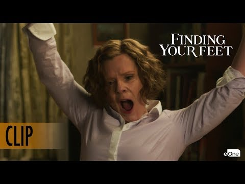 FINDING YOUR FEET | Clip | Sandra Finds Her Feet