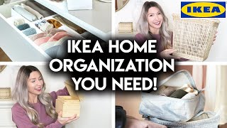 10 AFFORDABLE IKEA HOME ORGANIZATION IDEAS | NEW PRODUCTS 2020