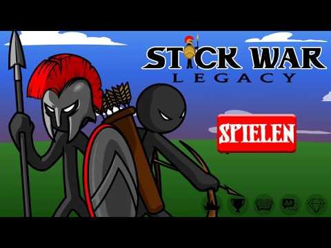 Strichmännchen, KÄMPFT! #01 || Let's Play Stick War: Legacy | Deutsch | German