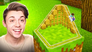 Building the SMALLEST AMUSEMENT PARK in Minecraft!