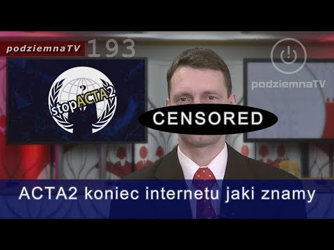 Robią nas w konia: ACTA2 Protesty w całej UE w sobote 23.03 + o prawie autorskim ogólnie #193