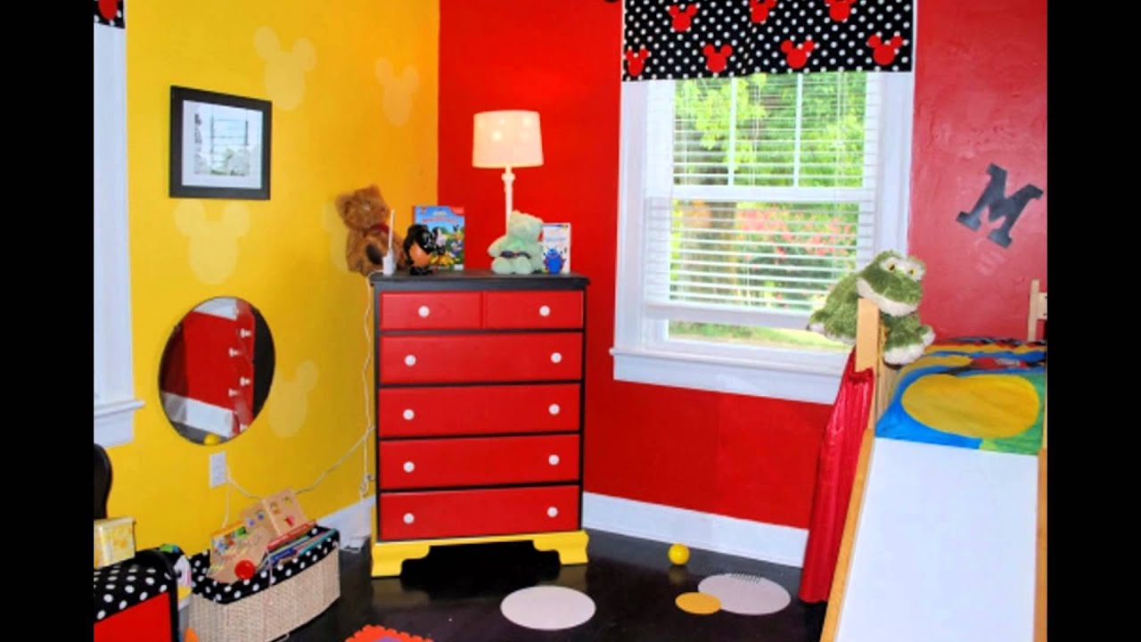 Cartoon bedroom ben 10 and mickey mouse youtube for Rearrange bedroom where do i start