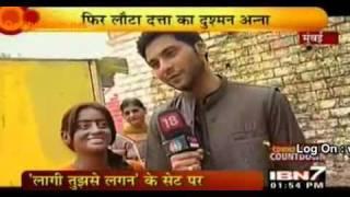 [IBN7] 29th June 2010: Mishal & Mahhi (Mandir Scene shooting)