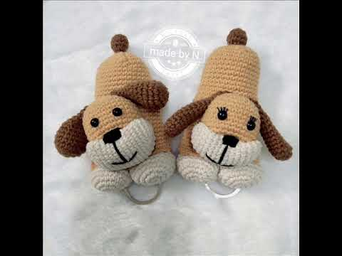 Crochet Pattern Free Puppy Keychain Youtube
