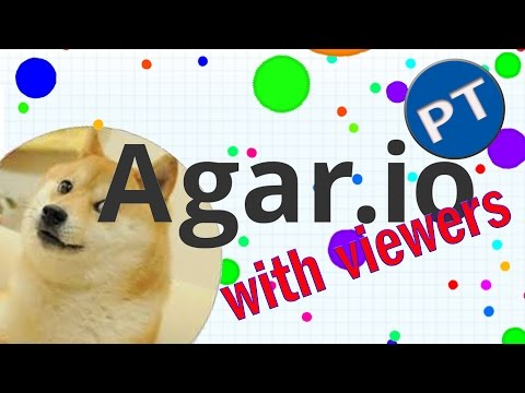"""""""AGAR.IO!""""-PARTY AND SERVER TAKEOVER WITH VIEWERS LETS GET HUGE"""