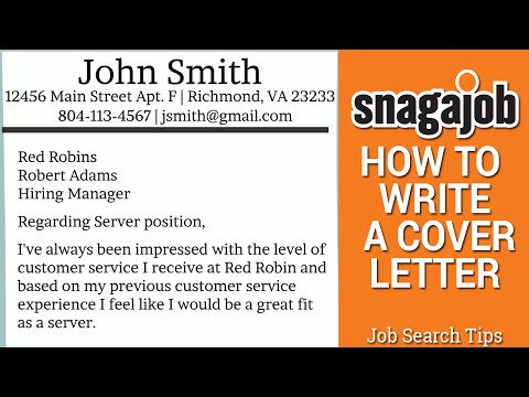 Job Search Tips (Part 11): How to write a cover letter
