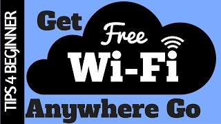 How to Get Free WiFi Anywhere Anytime Access : WiFi Map (App Review) Part#1 HotSpot WiFi TipsTricks