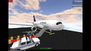 roblox lufthansa airbus a318 Boarding