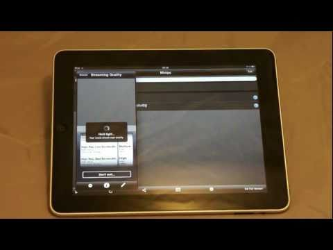 How to: Set up & Use VLC Streamer on the iPad - YouTube