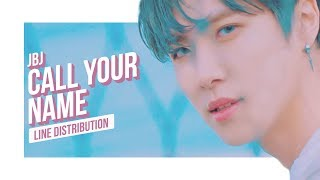 JBJ - Call Your Name Line Distribution (Color Coded) | 제이비제이 - 부를게