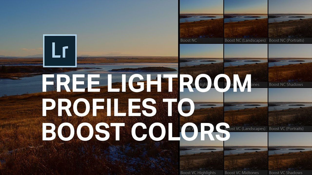 Lightroom PROFILES to Make Colors Pop! [2 FREE Profiles] 📥