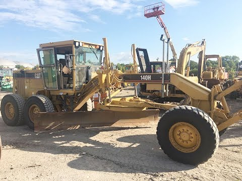 2003 Used CAT 140H 9TN01564 Motor Grader For Sale in Houston, Texas