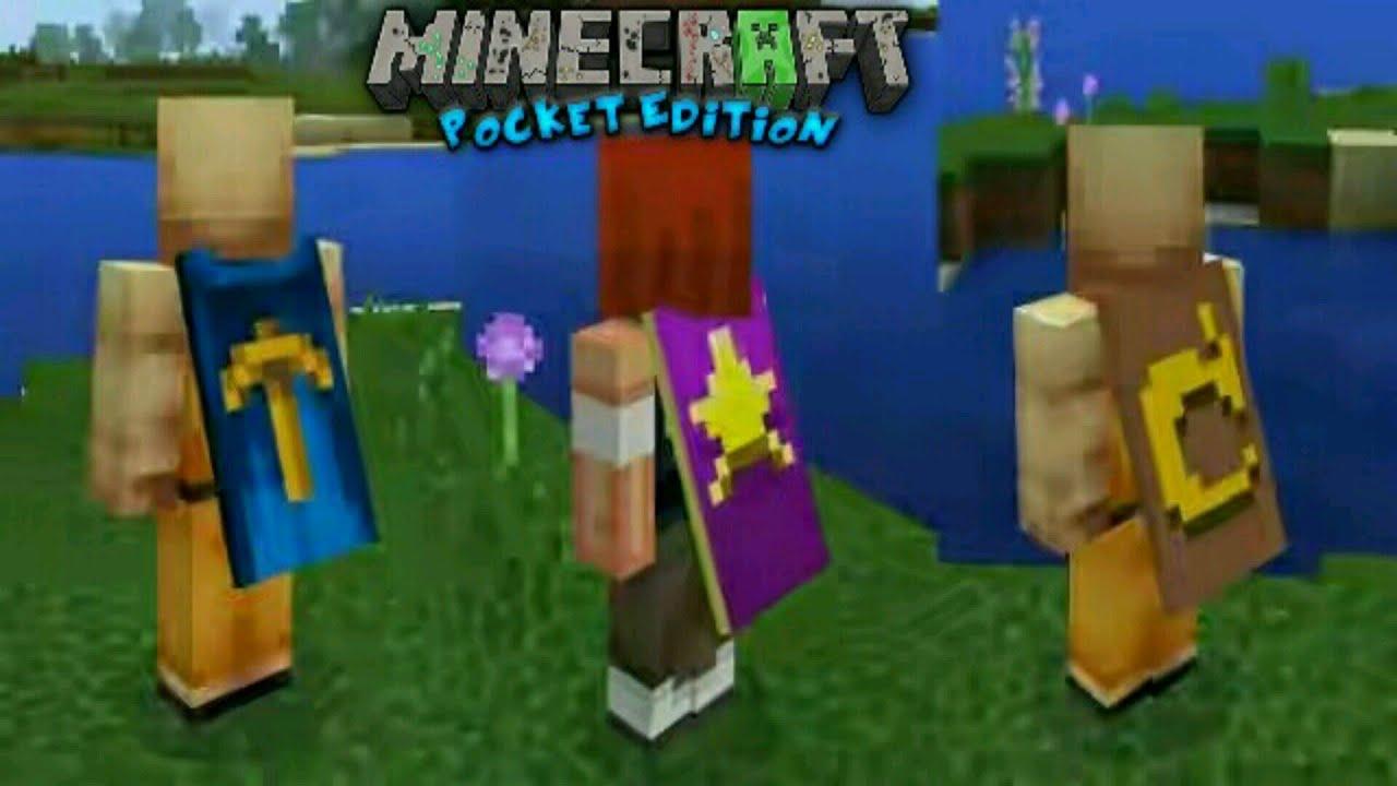 Minecraft PE MOD Capas Para Skin YouTube - Skins para minecraft 1 8 con capa