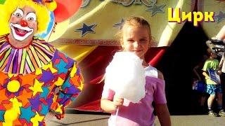 Клоуны в цирке,  животные видео для детей. Цирк шоу Кураж Львів.