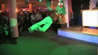 Breakdance at SAP Christmas Party 2012