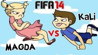 KALI VS SIOSTRA! - FIFA 14