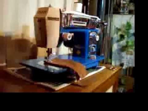 Morse Fotomatic IV Sewing Machine Demo YouTube Extraordinary Morse 4400 Sewing Machine