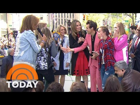Thumbnail: Four Fans Drove 11 Hours To See Harry Styles Concert, But Get To Meet Him, Too! | TODAY