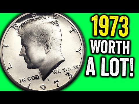 IS YOUR 1973 Half Dollar Coin Worth Money??