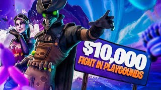 FORTNITE $10,000 1V1 BATTLE WITH A RICH KID (Not Clickbait)