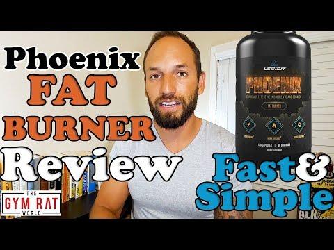 Phoenix Fat Burner | Legion Athletics | 2017 Supplement Review