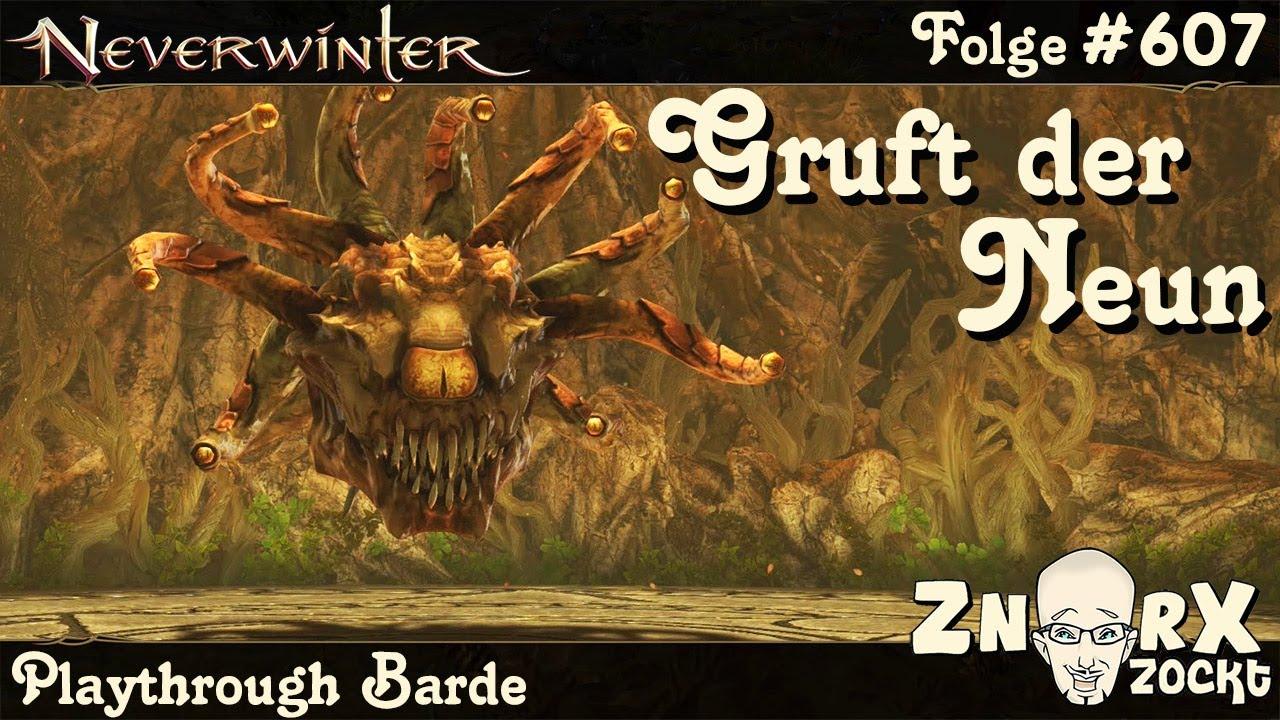 Download NEVERWINTER #607 Die Gruft der Neun & Barden Klassen-Artefakt - Barde Gameplay Lets Play PS4 Deutsch