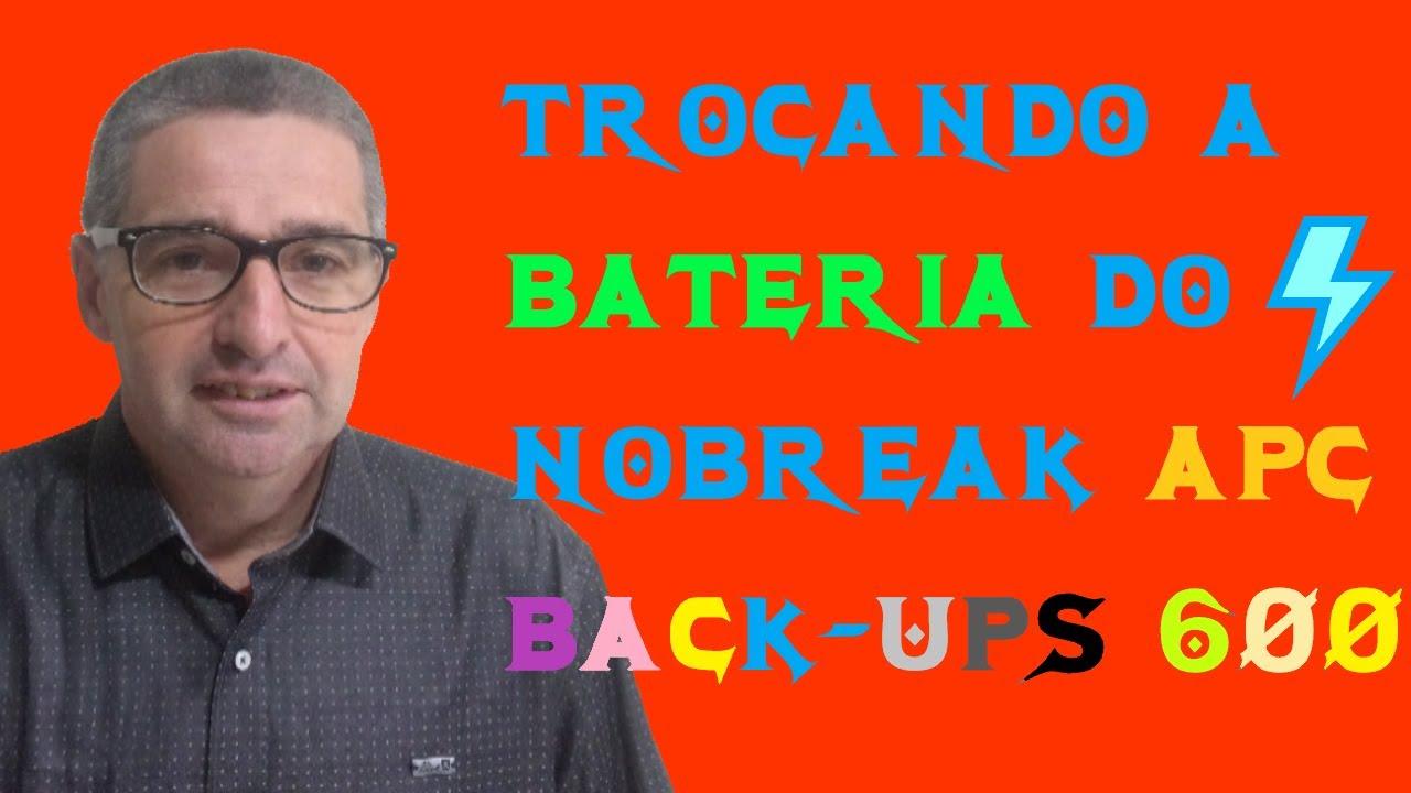 Circuito Ups : Curto circuito #005 trocando a bateria do apc bacu ups es 600
