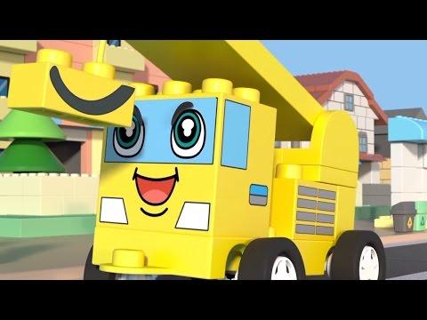 ЧиЧиЛэнд - Кто выше? - Новый мультфильм про машинки из конструктора для детей - Серия #4