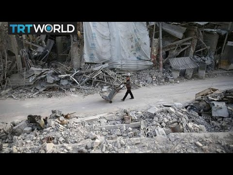The War in Syria: UN aid convoy forced to leave eastern Ghouta