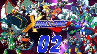 Mega Man X Challenge #2 Kentät 4-6