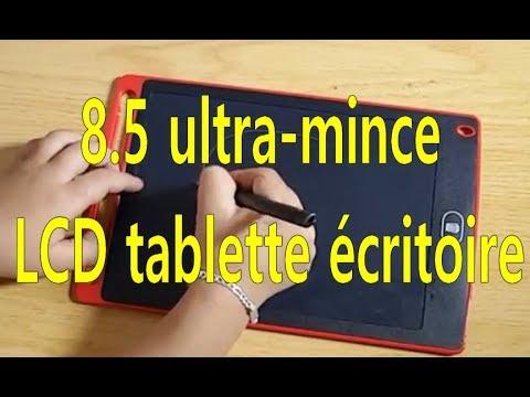8.5 ultra-mince LCD tablette écritoire de protection de l'environnement
