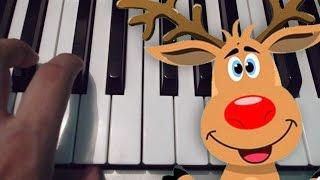 Rodolfo El Reno  Piano Tutorial  Notas Musicales