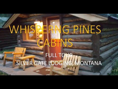 Silver Gate Cabins Montana